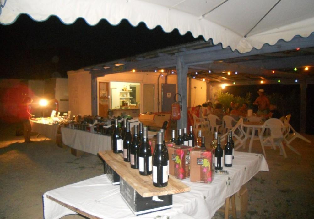 marché de Provence au camping