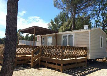 location mobil-homes dans le Verdon - modèle ORIGAN Pack clim