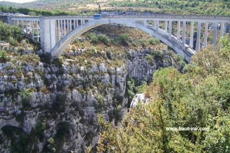 Pont de l'artuby gorges du Verdon