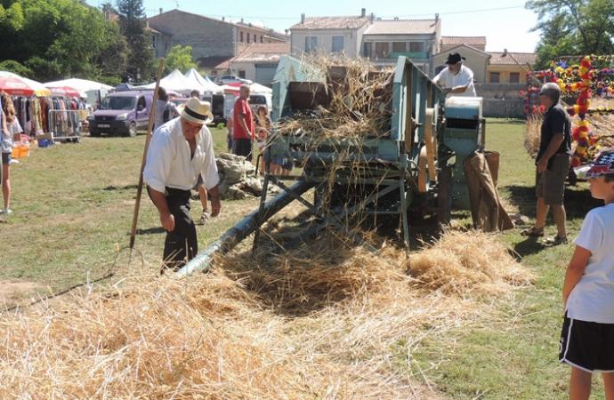 fete du blé à Riez