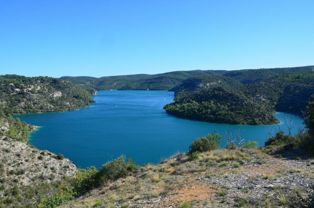 camping lac esparron